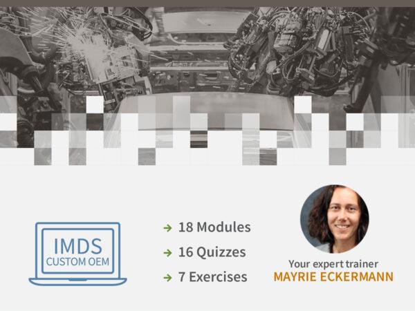 IMDS OEM Specific Information