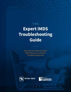 IMDS Rejections IMDS Troubleshooting